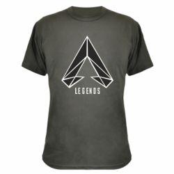 Камуфляжна футболка Apex legends low poly