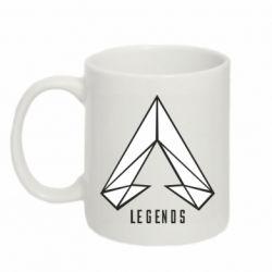 Кружка 320ml Apex legends low poly