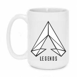 Кружка 420ml Apex legends low poly