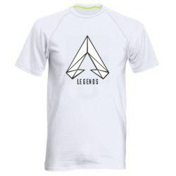 Чоловіча спортивна футболка Apex legends low poly