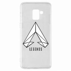Чохол для Samsung A8+ 2018 Apex legends low poly