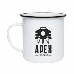 Кружка эмалированная Apex Legends symbol health