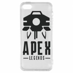 Чохол для iphone 5/5S/SE Apex Legends symbol health
