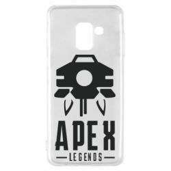 Чохол для Samsung A8 2018 Apex Legends symbol health