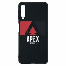 Чехол для Samsung A7 2018 Apex red-black