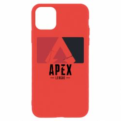Чехол для iPhone 11 Apex red-black