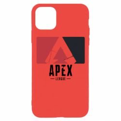 Чехол для iPhone 11 Pro Apex red-black