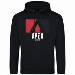 Чоловіча толстовка Apex red-black