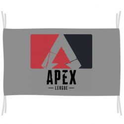 Флаг Apex red-black