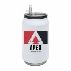 Термобанка 350ml Apex red-black