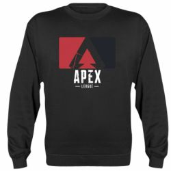 Реглан (свитшот) Apex red-black