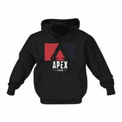 Дитяча толстовка Apex red-black