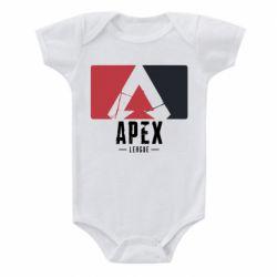 Дитячий бодік Apex red-black
