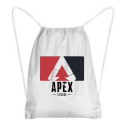 Рюкзак-мешок Apex red-black