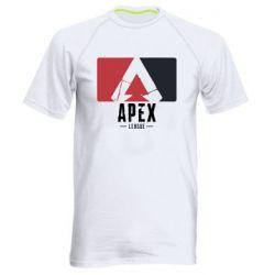Чоловіча спортивна футболка Apex red-black