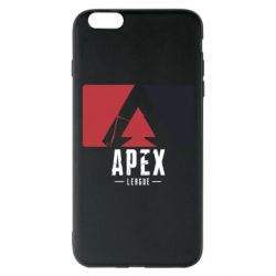 Чехол для iPhone 6 Plus/6S Plus Apex red-black