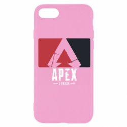 Чехол для iPhone 7 Apex red-black