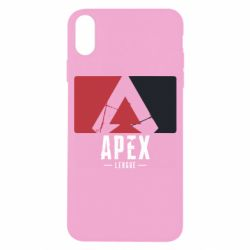 Чехол для iPhone X/Xs Apex red-black