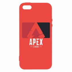 Чехол для iPhone5/5S/SE Apex red-black