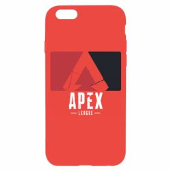 Чехол для iPhone 6/6S Apex red-black