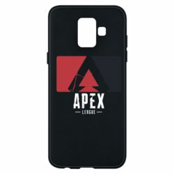 Чехол для Samsung A6 2018 Apex red-black