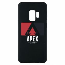 Чехол для Samsung S9 Apex red-black