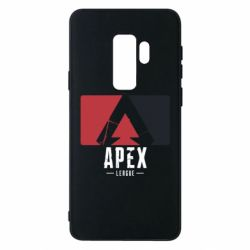 Чехол для Samsung S9+ Apex red-black