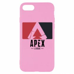 Чехол для iPhone 8 Apex red-black
