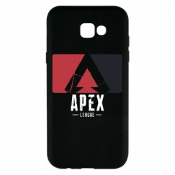 Чехол для Samsung A7 2017 Apex red-black