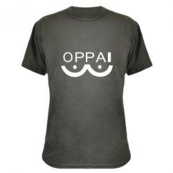 Камуфляжна футболка OPPAI