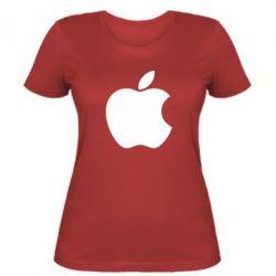 Женская футболка Apple Corp. - FatLine