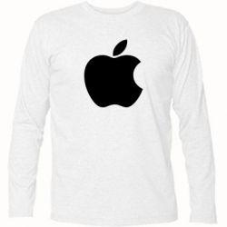 Футболка с длинным рукавом Apple Corp. - FatLine
