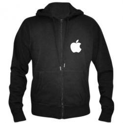 Мужская толстовка на молнии Apple Corp. - FatLine