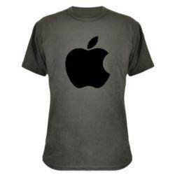 Камуфляжная футболка Apple Corp. - FatLine