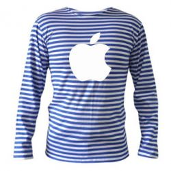 Тельняшка с длинным рукавом Apple Corp. - FatLine