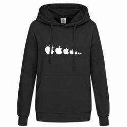 Женская толстовка Apple Evolution - FatLine
