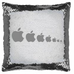 Подушка-хамелеон Apple Еволюції