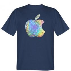 Футболка Apple Logo Голограмма