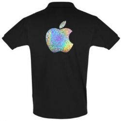 Футболка Поло Apple Logo Голограмма