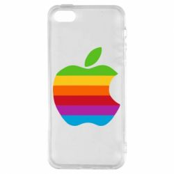 Чохол для iphone 5/5S/SE Apple веселка