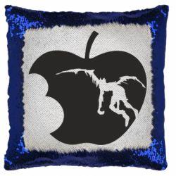 Подушка-хамелеон Apple Ryuk