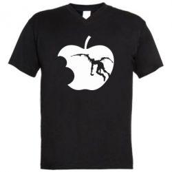 Чоловіча футболка з V-подібним вирізом Apple Ryuk