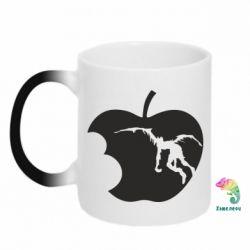 Кружка-хамелеон Apple Ryuk