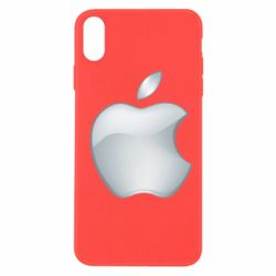 Чохол для iPhone Xs Max Apple Silver - FatLine