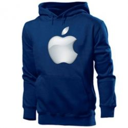 Мужская толстовка Apple Silver - FatLine