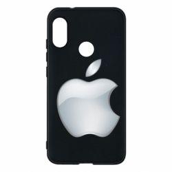 Чохол для Mi A2 Lite Apple Silver - FatLine