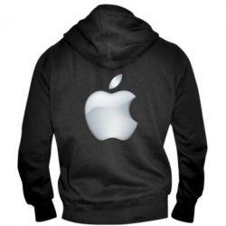 Чоловіча толстовка на блискавці Apple Silver - FatLine