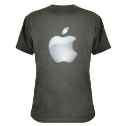 Камуфляжная футболка Apple Silver