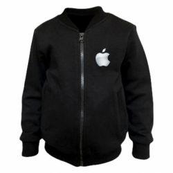 Дитячий бомбер Apple Silver