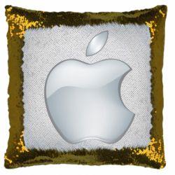 Подушка-хамелеон Apple Silver